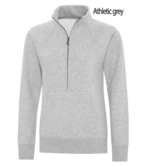 ATC™ ESACTIVE® VINTAGE 1/2 ZIP LADIES SWEATSHIRT.